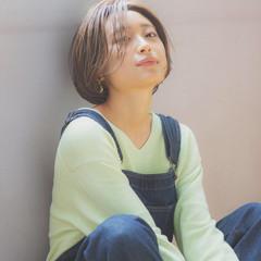 簡単ヘアアレンジ デート アンニュイほつれヘア ボブ ヘアスタイルや髪型の写真・画像