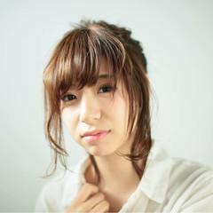 外国人風 パーマ ショート ヘアアレンジ ヘアスタイルや髪型の写真・画像