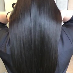 髪質改善 ナチュラル 髪質改善トリートメント 美髪 ヘアスタイルや髪型の写真・画像