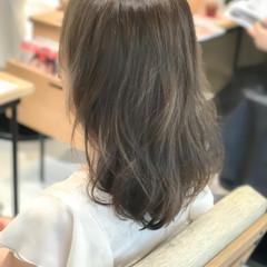 ロブ パーマ ゆるふわ エアリー ヘアスタイルや髪型の写真・画像