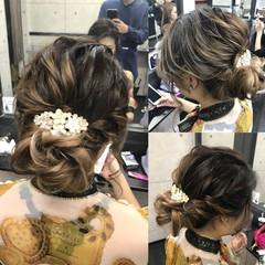 上品 ブライダル 二次会 結婚式 ヘアスタイルや髪型の写真・画像