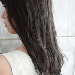 ロング 透明感カラー 圧倒的透明感 大人女子 ヘアスタイルや髪型の写真・画像
