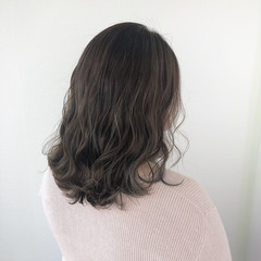 グラデーションカラー 髪質改善 髪質改善トリートメント ミディアム ヘアスタイルや髪型の写真・画像