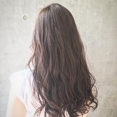 モテ髪 ナチュラル アッシュベージュ ロング ヘアスタイルや髪型の写真・画像