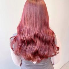 ナチュラル ピンクベージュ ピンクアッシュ ヨシンモリ ヘアスタイルや髪型の写真・画像