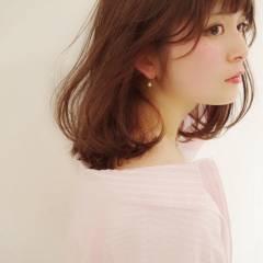 モテ髪 フェミニン ナチュラル ゆるふわ ヘアスタイルや髪型の写真・画像
