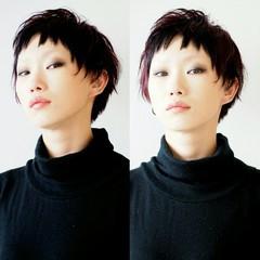 かっこいい ベリーショート 前髪あり ショート ヘアスタイルや髪型の写真・画像