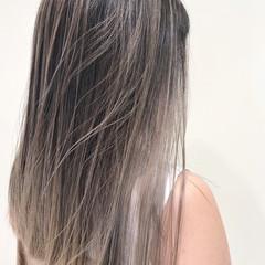 極細ハイライト ハイライト エレガント ブリーチカラー ヘアスタイルや髪型の写真・画像