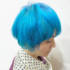 ハイトーンカラー ハイトーン 塩基性 派手髪 ヘアスタイルや髪型の写真・画像
