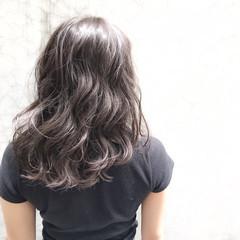 ストリート アッシュ ラベンダー 外国人風 ヘアスタイルや髪型の写真・画像