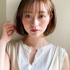 ショートヘア 秋ブラウン ミルクティーアッシュ オレンジブラウン ヘアスタイルや髪型の写真・画像