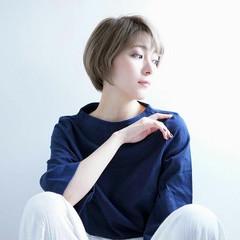 モード かっこいい 外国人風 ブルージュ ヘアスタイルや髪型の写真・画像
