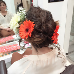 フェミニン ゆるふわ 外国人風 ロング ヘアスタイルや髪型の写真・画像