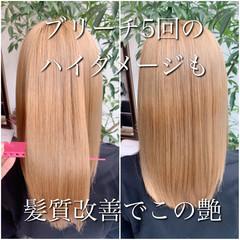髪質改善 ナチュラル 髪質改善カラー 髪質改善トリートメント ヘアスタイルや髪型の写真・画像