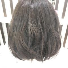 ブルージュ アッシュ ナチュラル 外国人風 ヘアスタイルや髪型の写真・画像