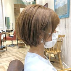 ミニボブ ショート 30代 ショートヘア ヘアスタイルや髪型の写真・画像