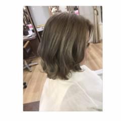 アッシュ ガーリー ストリート 渋谷系 ヘアスタイルや髪型の写真・画像