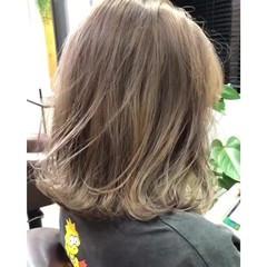 3Dハイライト ハイライト ナチュラル インナーカラー ヘアスタイルや髪型の写真・画像