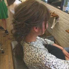 リラックス ロング 女子会 編み込み ヘアスタイルや髪型の写真・画像