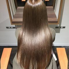 ナチュラル ロング 大人女子 パーマ ヘアスタイルや髪型の写真・画像