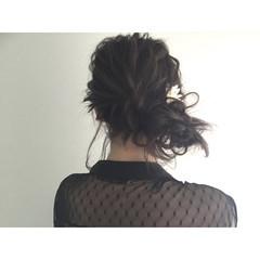 ショート ゆるふわ 結婚式 セミロング ヘアスタイルや髪型の写真・画像