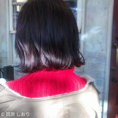 艶髪 ラベンダーピンク ピンクブラウン 透明感 ヘアスタイルや髪型の写真・画像