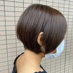 ショートヘア ボブ 丸みショート ショートボブ ヘアスタイルや髪型の写真・画像