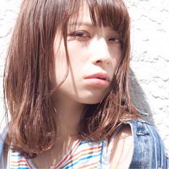 ブラウン モテ髪 外国人風 愛され ヘアスタイルや髪型の写真・画像