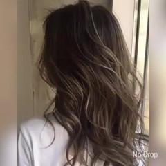 ロング ヘアアレンジ 外国人風 ハイライト ヘアスタイルや髪型の写真・画像