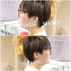 ナチュラル TOKIOトリートメント オフィス ハンサムショート ヘアスタイルや髪型の写真・画像