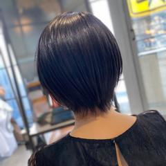 ショート ショートヘア 耳かけ ハンサムショート ヘアスタイルや髪型の写真・画像