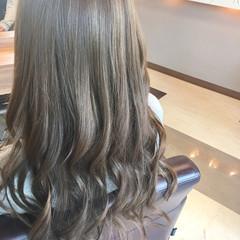 エレガント 巻き髪 ウェーブ ロング ヘアスタイルや髪型の写真・画像