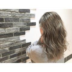 外国人風 渋谷系 ストリート グラデーションカラー ヘアスタイルや髪型の写真・画像