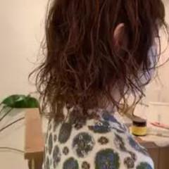 セミロング デート 極細ハイライト 大人かわいい ヘアスタイルや髪型の写真・画像