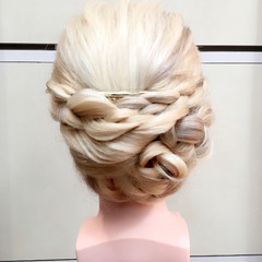 三つ編み ショート ヘアアレンジ ロング ヘアスタイルや髪型の写真・画像