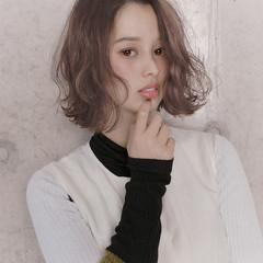 冬 アンニュイほつれヘア 愛され モテ髪 ヘアスタイルや髪型の写真・画像