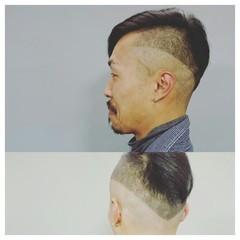 ストリート 黒髪 坊主 メンズ ヘアスタイルや髪型の写真・画像