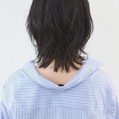マッシュウルフ ニュアンスウルフ ナチュラル ウルフカット ヘアスタイルや髪型の写真・画像