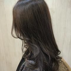 フェミニン 外国人風 外国人風カラー セミロング ヘアスタイルや髪型の写真・画像