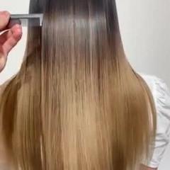 艶髪 髪質改善トリートメント エレガント 美髪 ヘアスタイルや髪型の写真・画像
