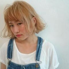 外ハネ ラフ 外国人風 ストリート ヘアスタイルや髪型の写真・画像