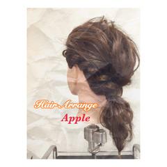 セミロング 簡単ヘアアレンジ こなれ感 大人かわいい ヘアスタイルや髪型の写真・画像