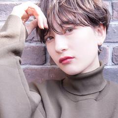 ベリーショート ショート ミニボブ ナチュラル ヘアスタイルや髪型の写真・画像
