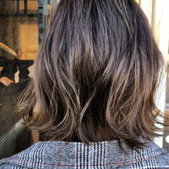 外国人風 ナチュラル ウェーブ アンニュイ ヘアスタイルや髪型の写真・画像