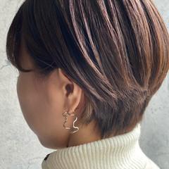 ショートヘア ナチュラル 小顔ショート ショート ヘアスタイルや髪型の写真・画像