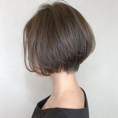 ショート モード 小顔ショート デート ヘアスタイルや髪型の写真・画像