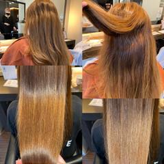 髪質改善トリートメント エレガント 髪質改善 髪質改善カラー ヘアスタイルや髪型の写真・画像