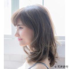 簡単ヘアアレンジ 抜け感 スポーツ フェミニン ヘアスタイルや髪型の写真・画像