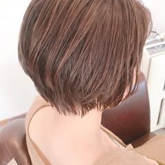 ナチュラル 大人かわいい ショート 濡れ髪スタイル ヘアスタイルや髪型の写真・画像