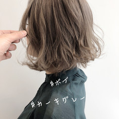 ミニボブ 切りっぱなしボブ ナチュラル ショートボブ ヘアスタイルや髪型の写真・画像